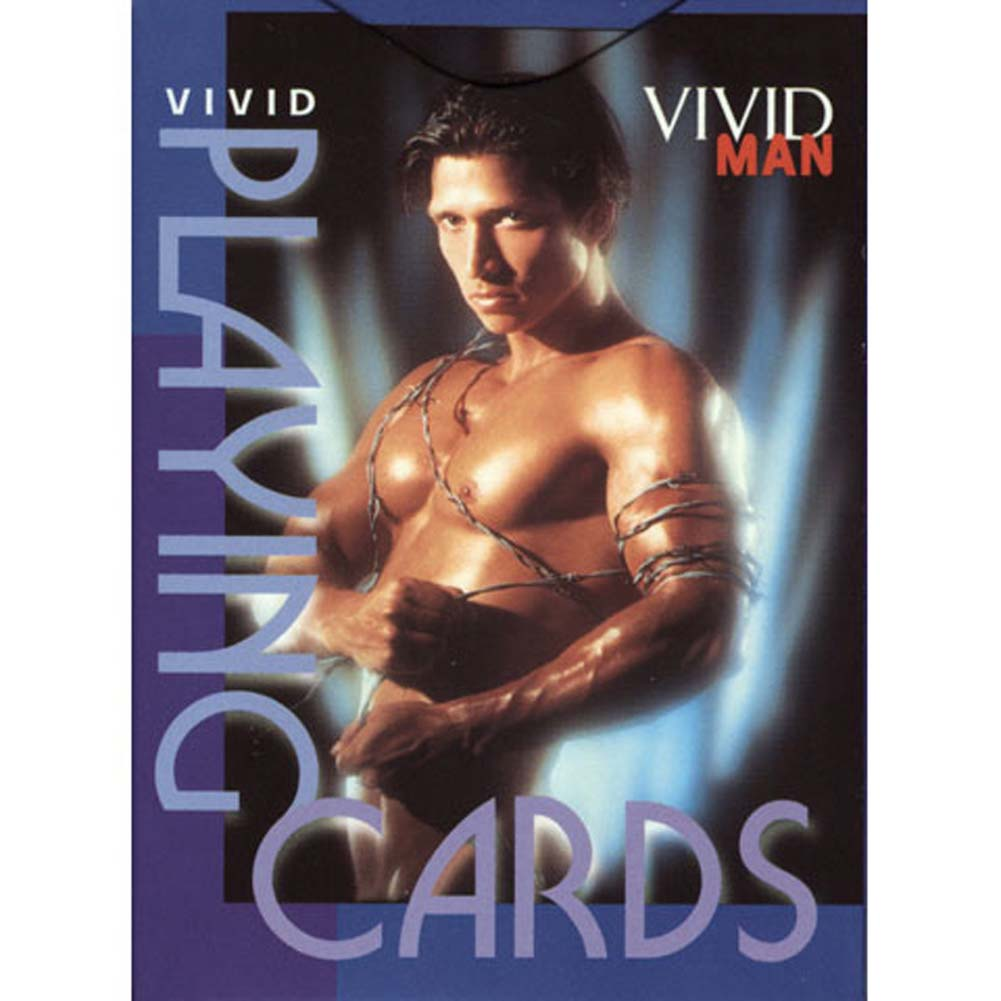 Vivid Man Playing Cards - View #1