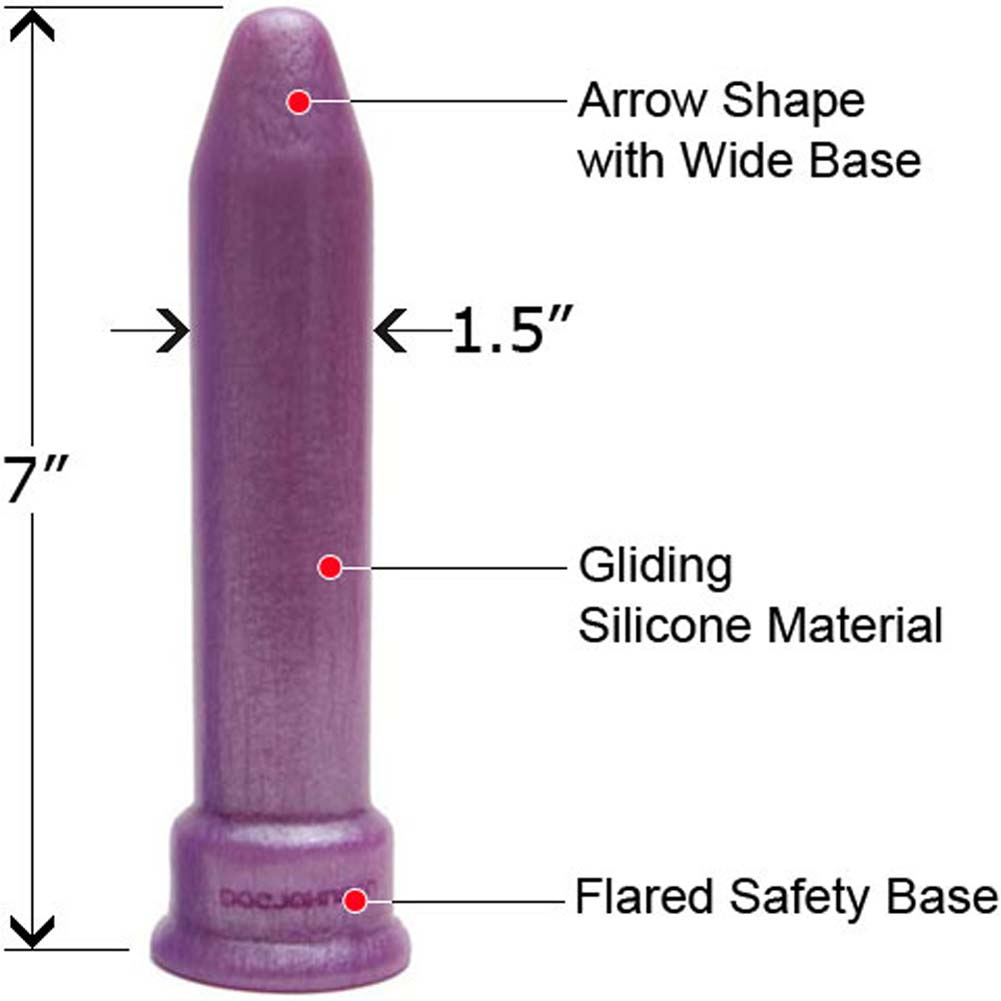 "PLATINUM the Tool Universal Silicone Sex Toy 7"" Purple Pearl - View #1"