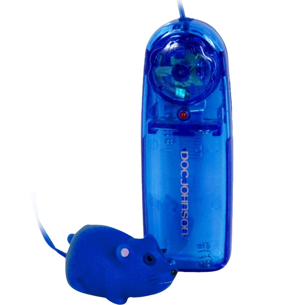 "Mini Mini Mouse Vibrating Bullet 1.75"" Blue - View #2"
