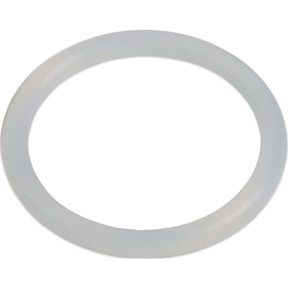 "Silicone Love Ring Large 2.25"" Clear - View #2"