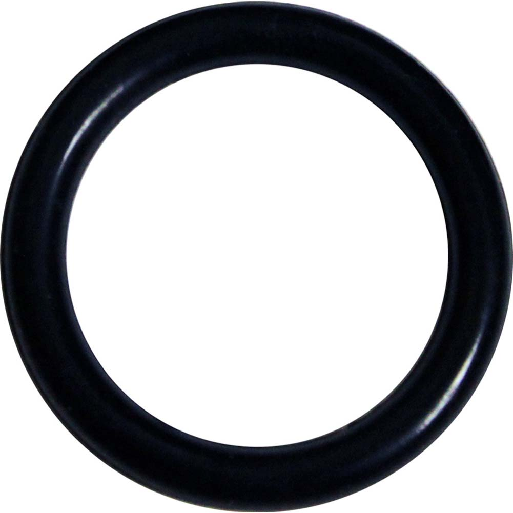 OptiSex Super Silicone Cockring Small Black - View #2