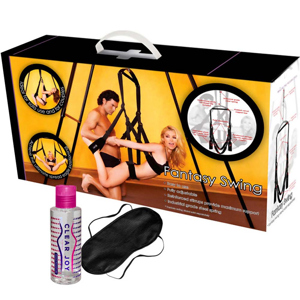 OptiSex Romantic Fantasy Swing Kit with Love Mask and Personal Lube 4 Fl.Oz 120 mL - View #2