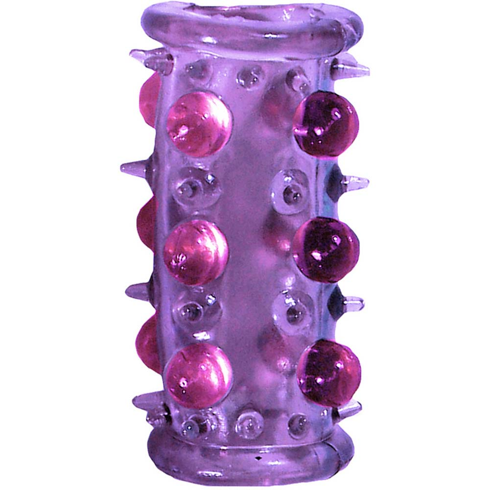 OptiSex Lovers Pleasure Booster Cage for Couples Naughty Purple - View #3