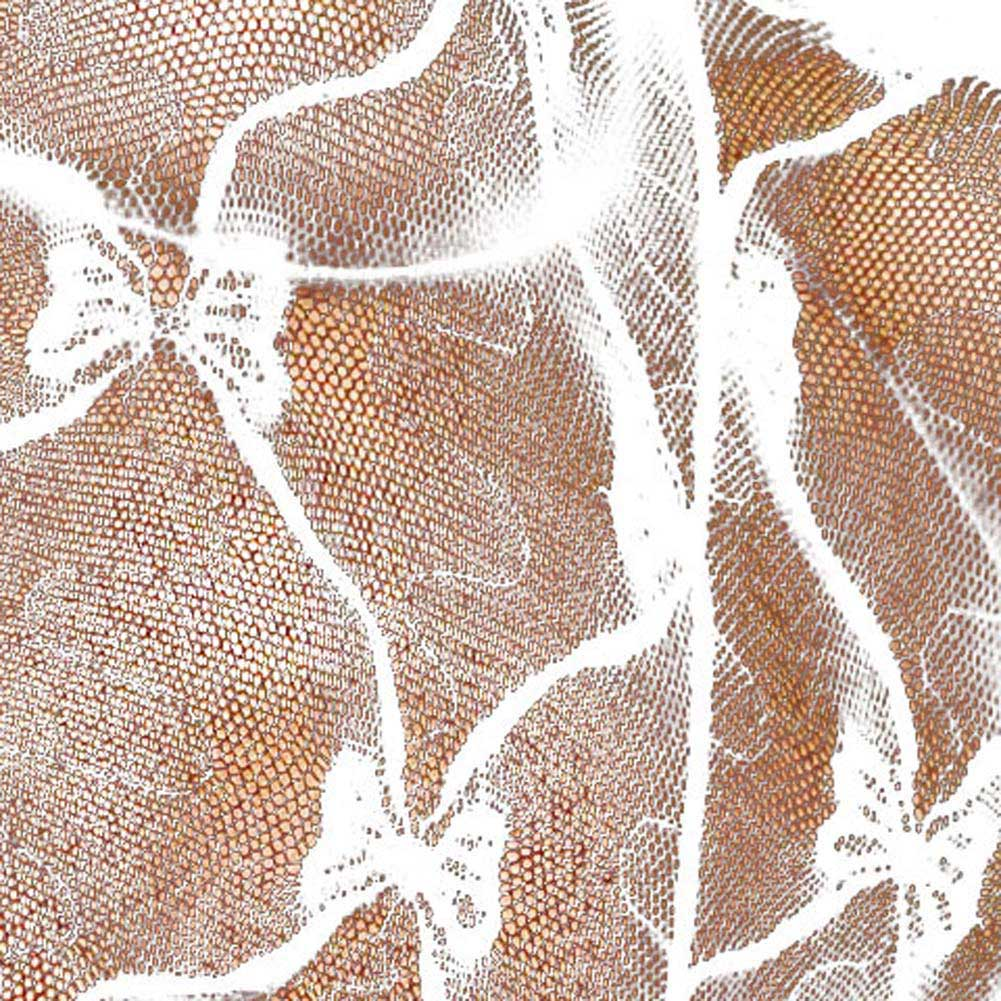 Lace Ruffle Off Shoulder Crotchless Bodystocking White - View #3