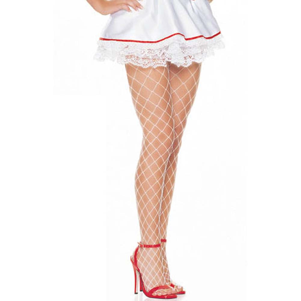 Satin Underwired Nurse Outfit 2 Pc Medium Size - View #3