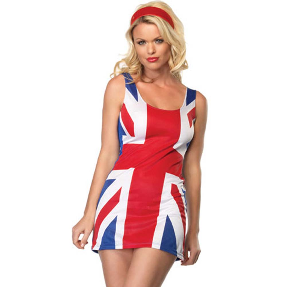 British Flag Costume Extra Small - View #1