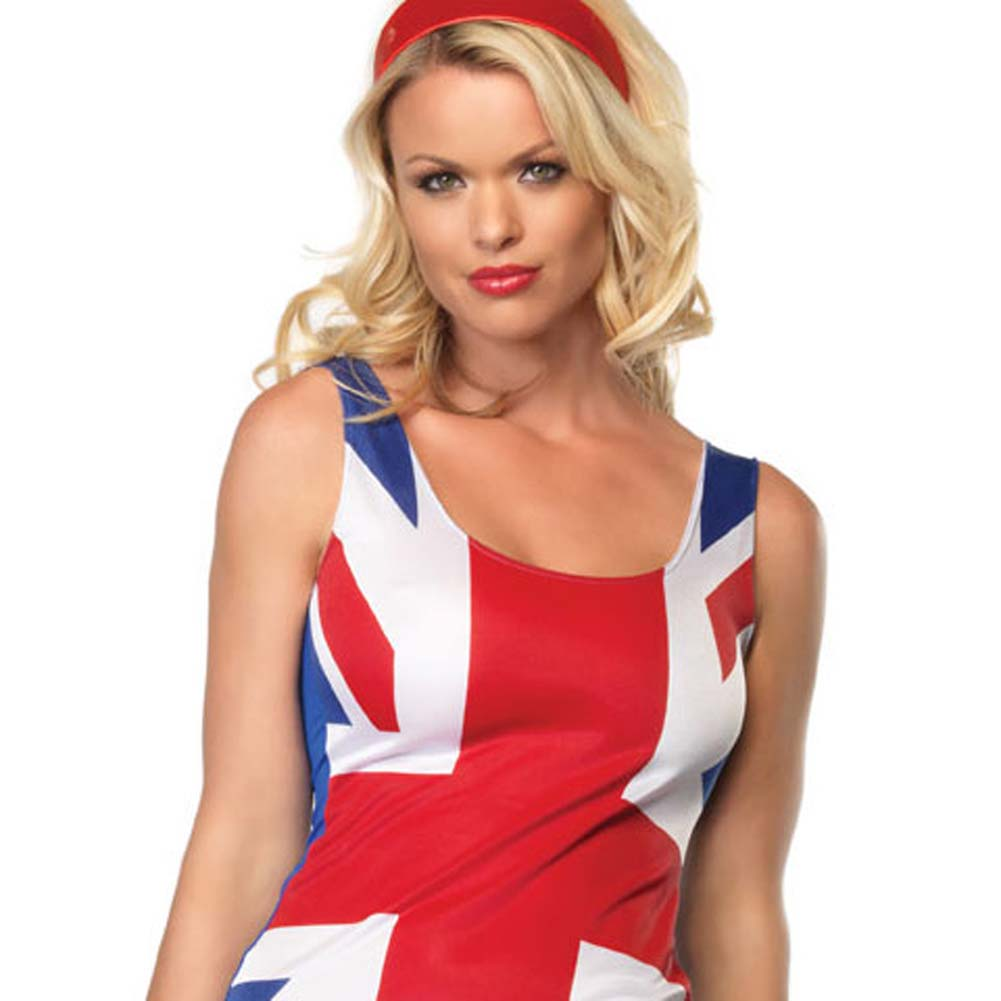 British Flag Costume Extra Small - View #3