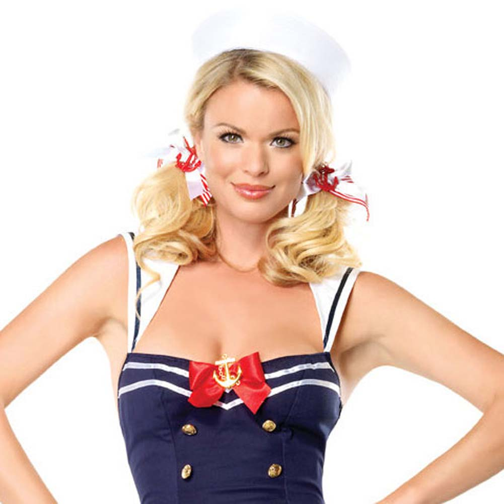 Flirty First Mate Costume Large - View #3