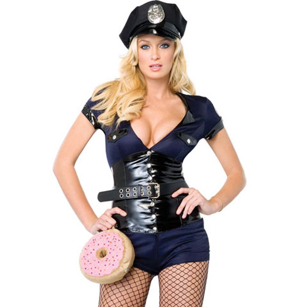Madame Officer Costume Small - View #1