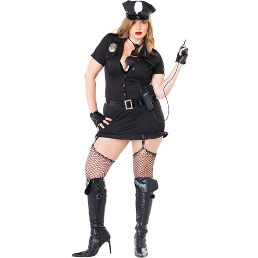 Dirty Cop Costume Size Plus 1X/2X - View #2