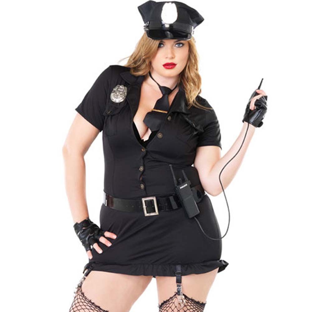 Dirty Cop Costume Size Plus 3X/4X - View #1