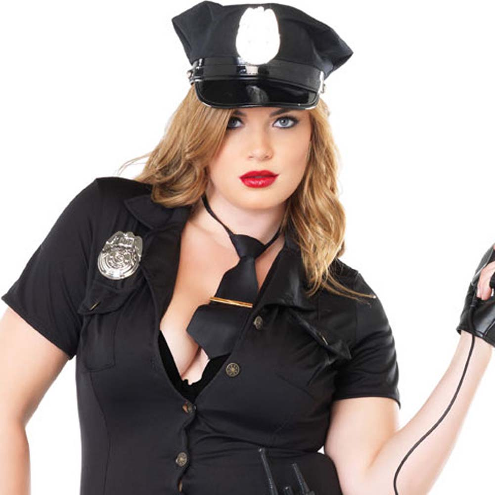 Dirty Cop Costume Size Plus 3X/4X - View #3
