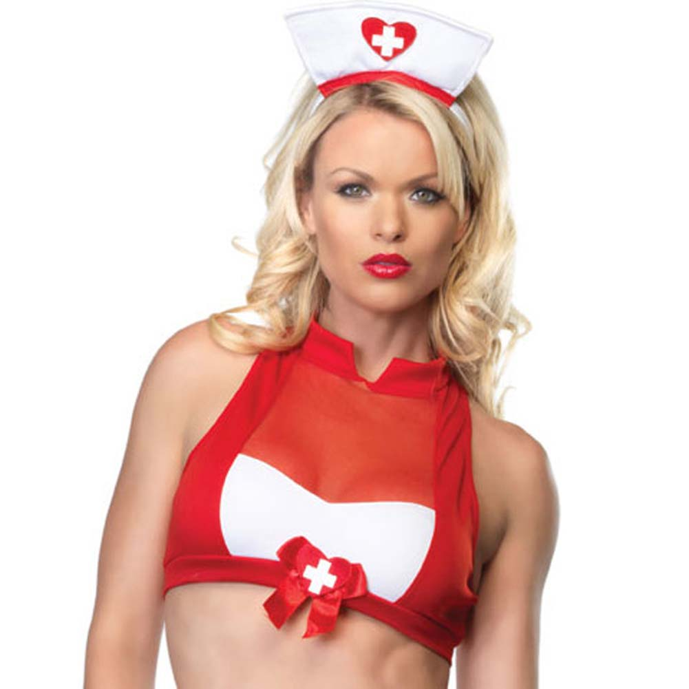 Blood Pressure Betty Costume Small/Medium - View #3