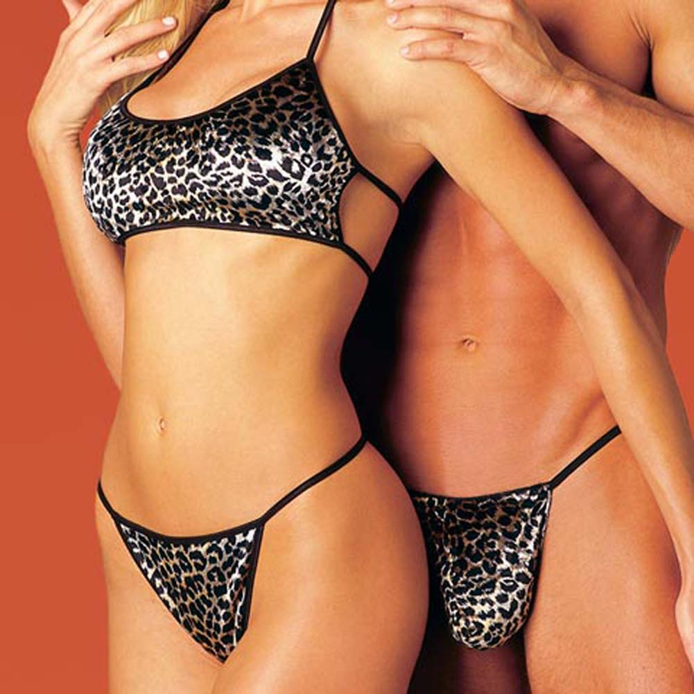 His and Hers Animal Print Set - View #1