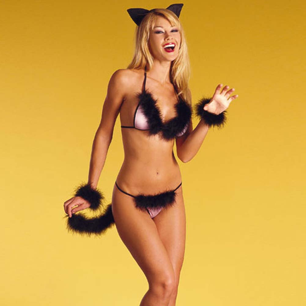 Sexy Kitty Costume - View #2