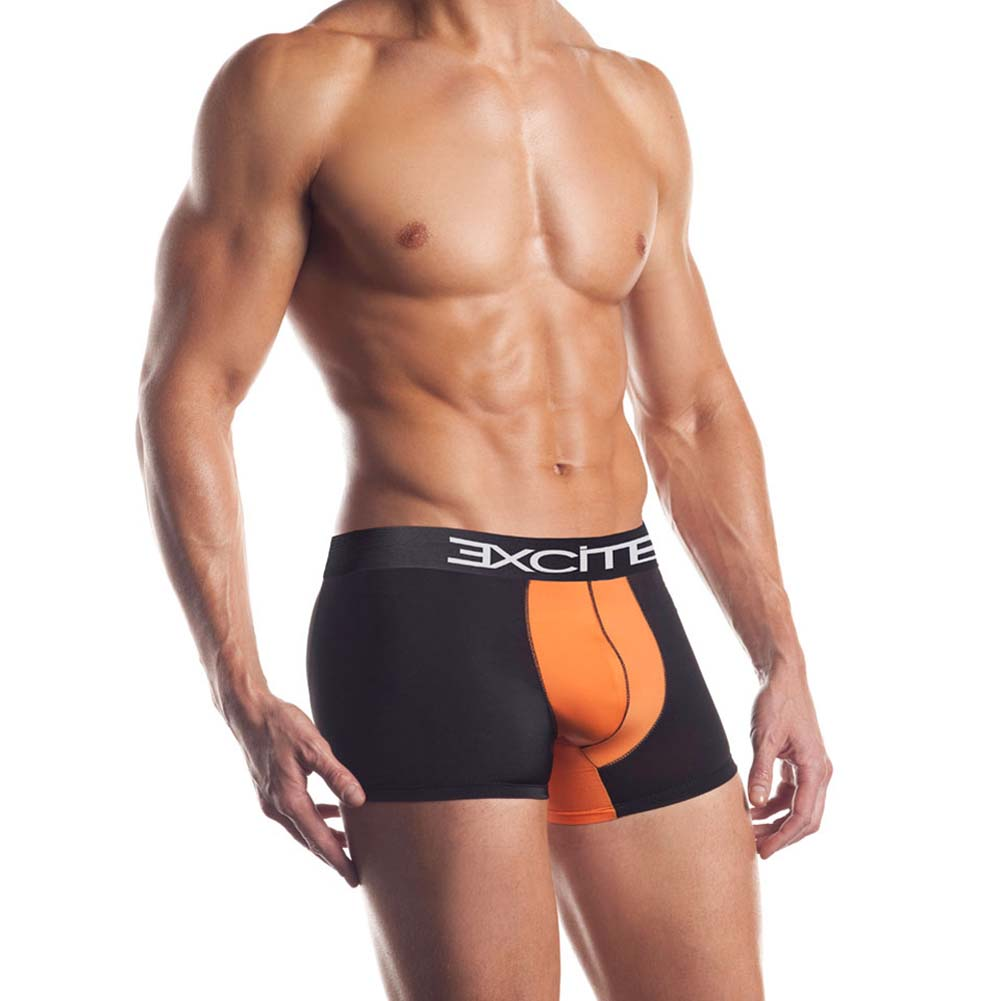 Premier Series Classic Boxer Brief Large Black/Orange - View #1