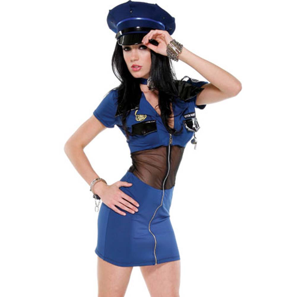 Police Seductress Costume Large/ExtraLarge - View #1