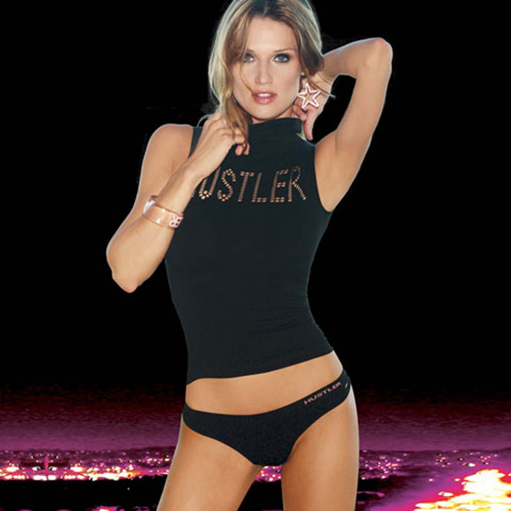 Ultra Smooth Hot Top and Hip Hugger Black Small to Medium - View #1