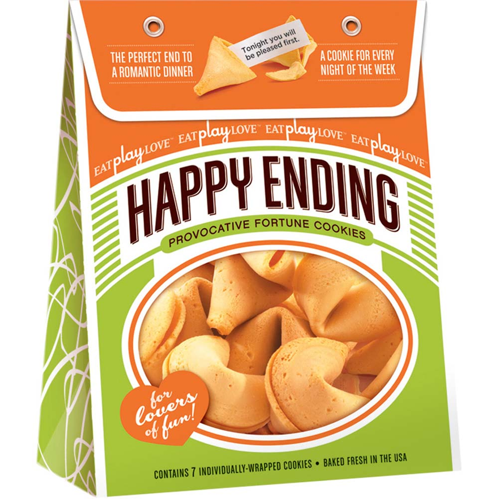 Happy Ending Provocative Fortune Cookies 7 Count - View #1