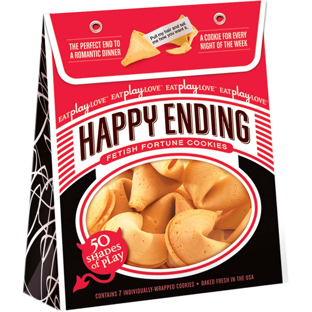 Happy Ending Fortune Cookies 50 Shades of Play 7 Count - View #1