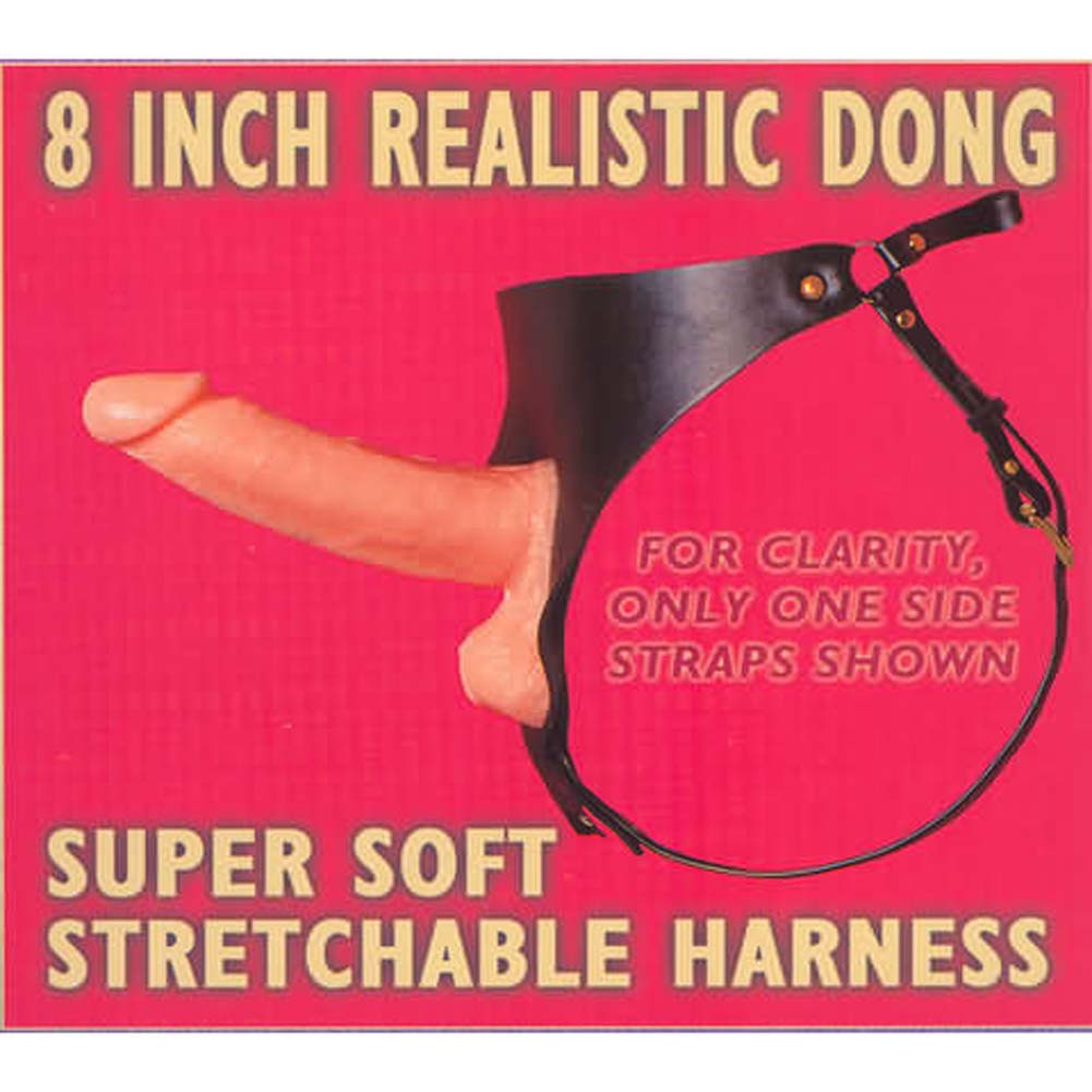 "8"" Dong With Harness - View #2"