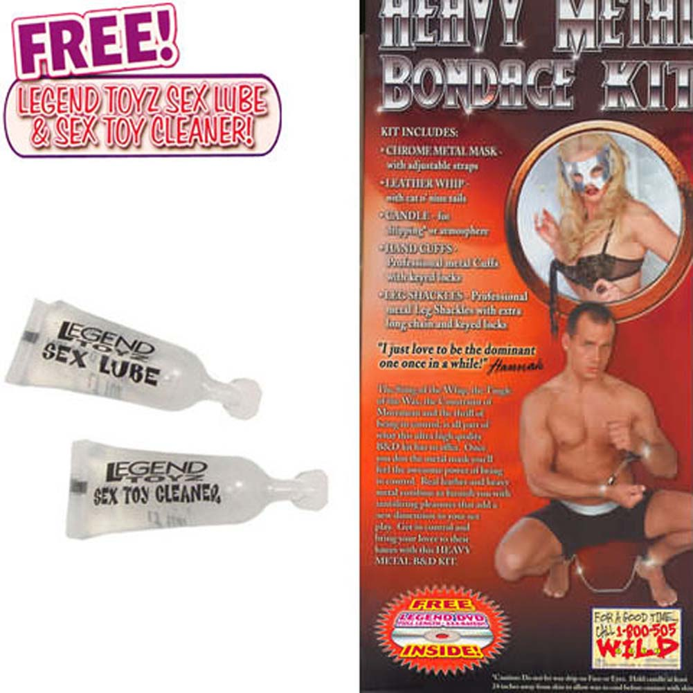 Heavy Metal Bondage Kit with Free XXX DVD - View #1