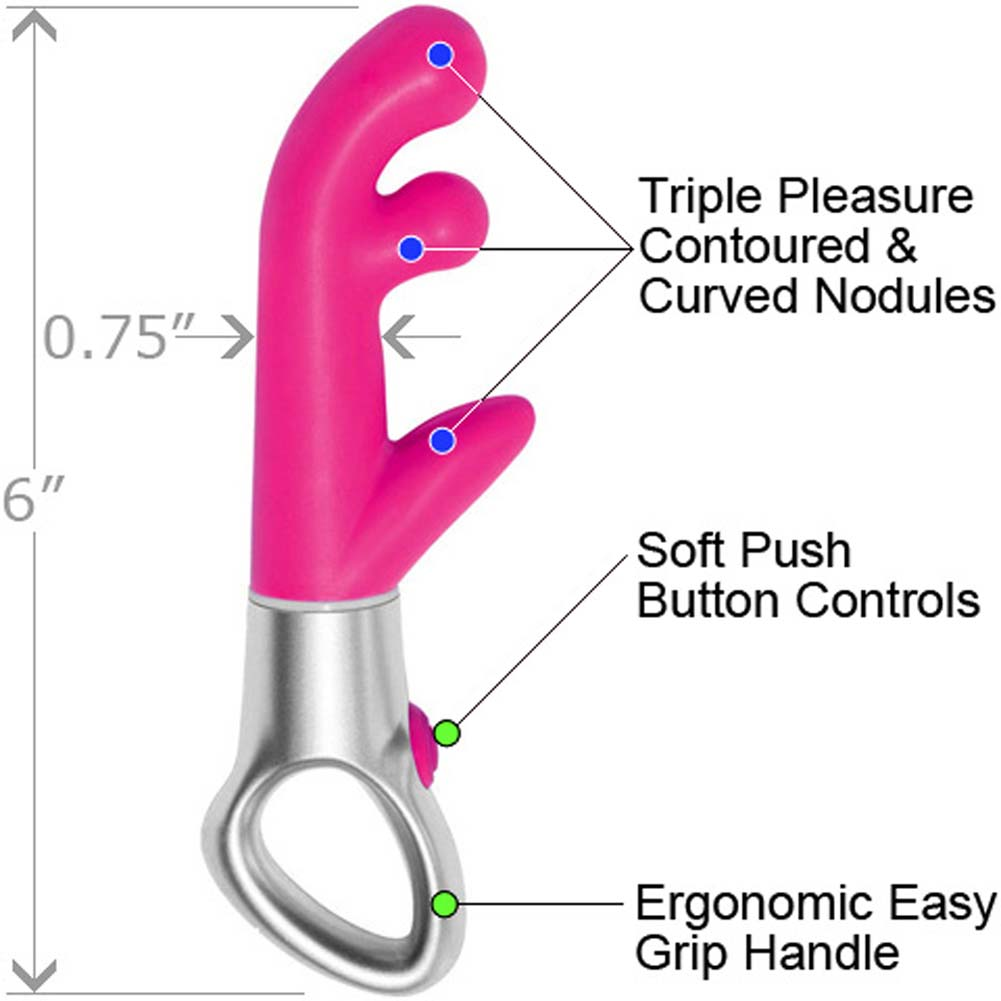 "Illusion Impulse G-Spot Waterproof Vibe 6"" Pink - View #1"