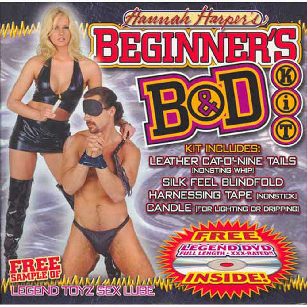 Hannah Harpers Beginners B and D Kit with Free DVD - View #2