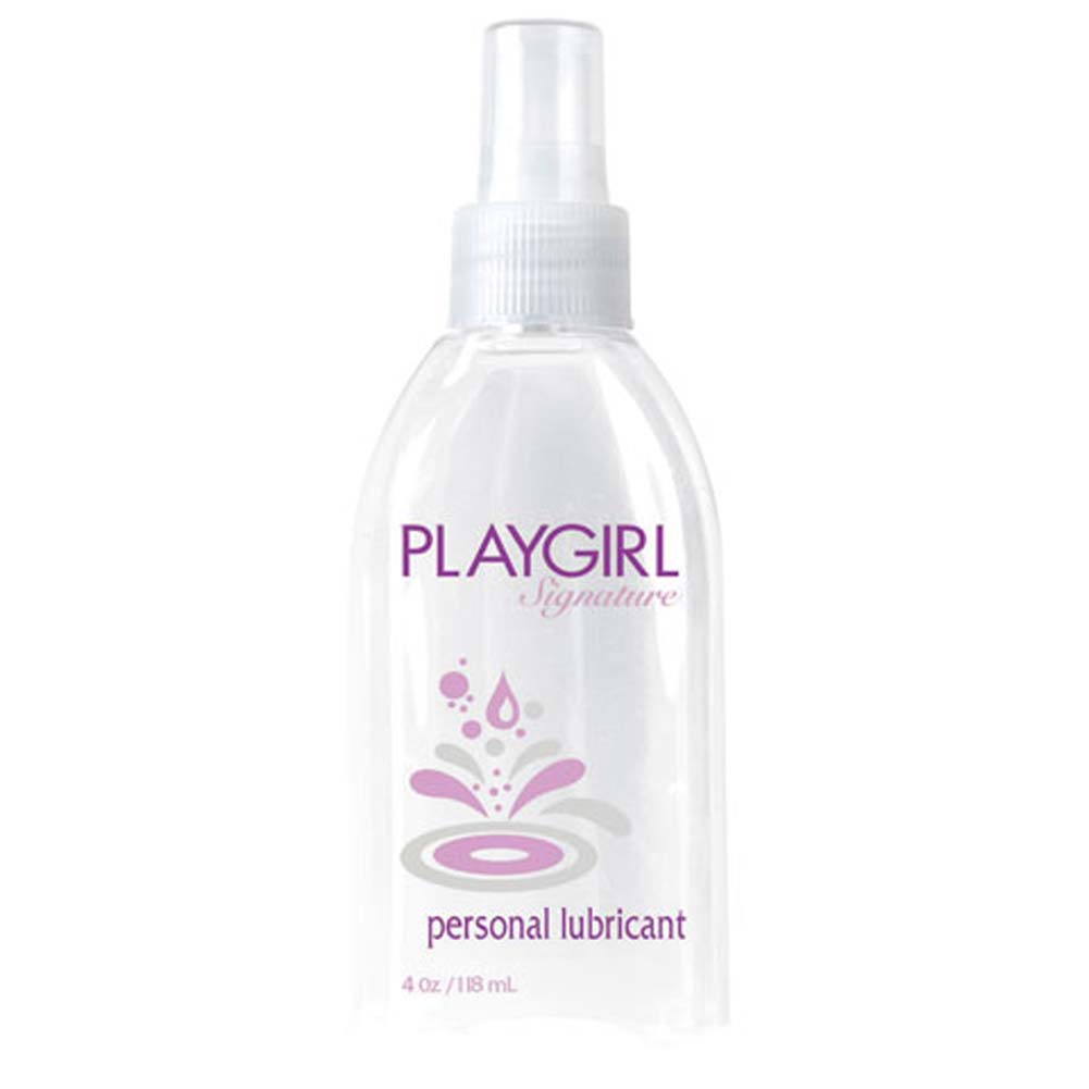 Playgirl Signature Personal Lubricant 4 Fl. Oz. Clear - View #1
