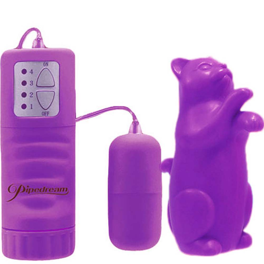 Playgirl Animal Attraction Putty Tat Waterproof Vibe Purple - View #3