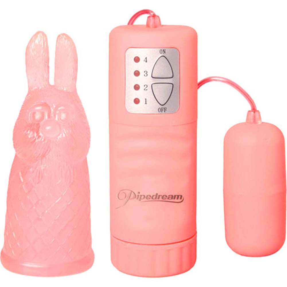 LuvTouch Waterproof Bullet Bunny Pink - View #3