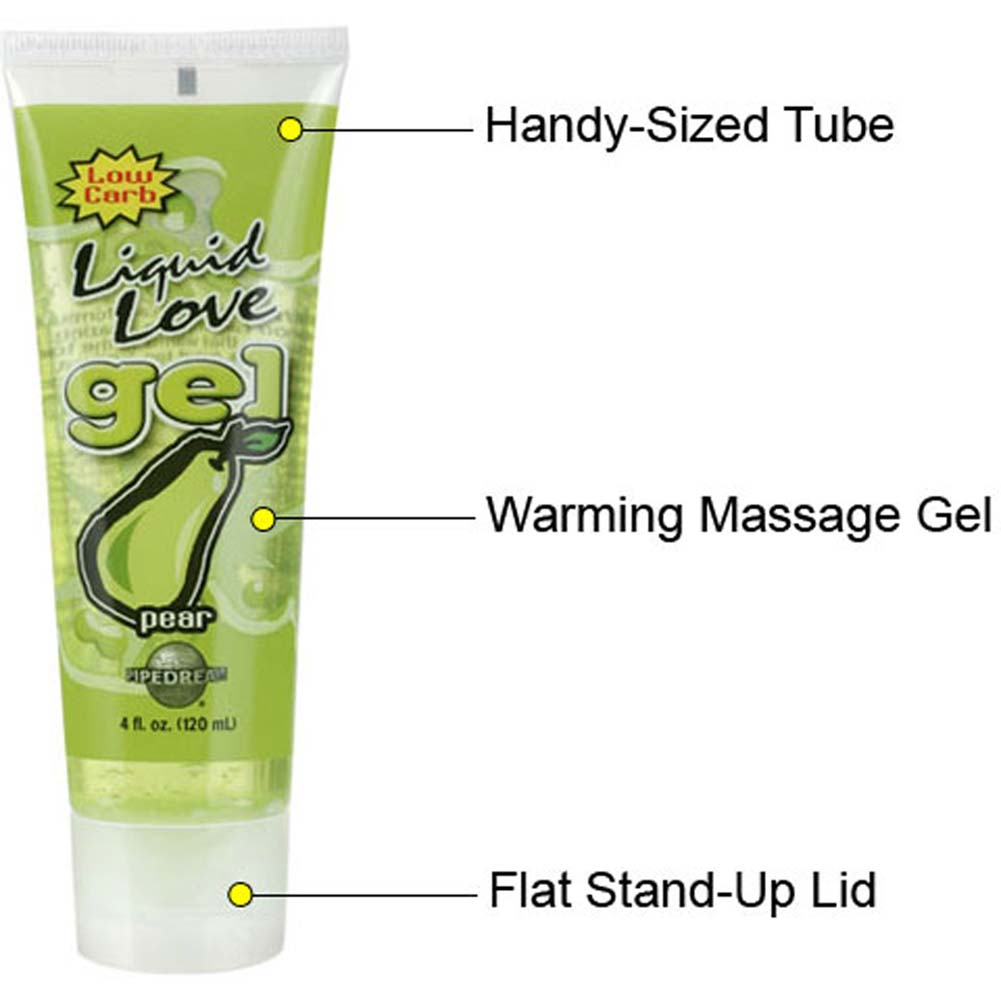 Liquid Love Gel Pear 4 Fl. Oz. Tube - View #1