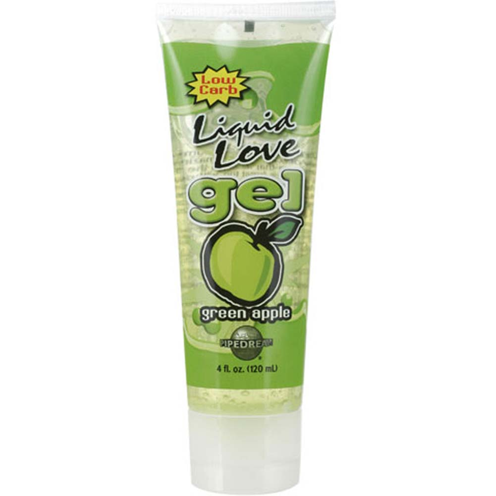 Liquid Love Gel Green Apple 4 Fl. Oz. Tube - View #2