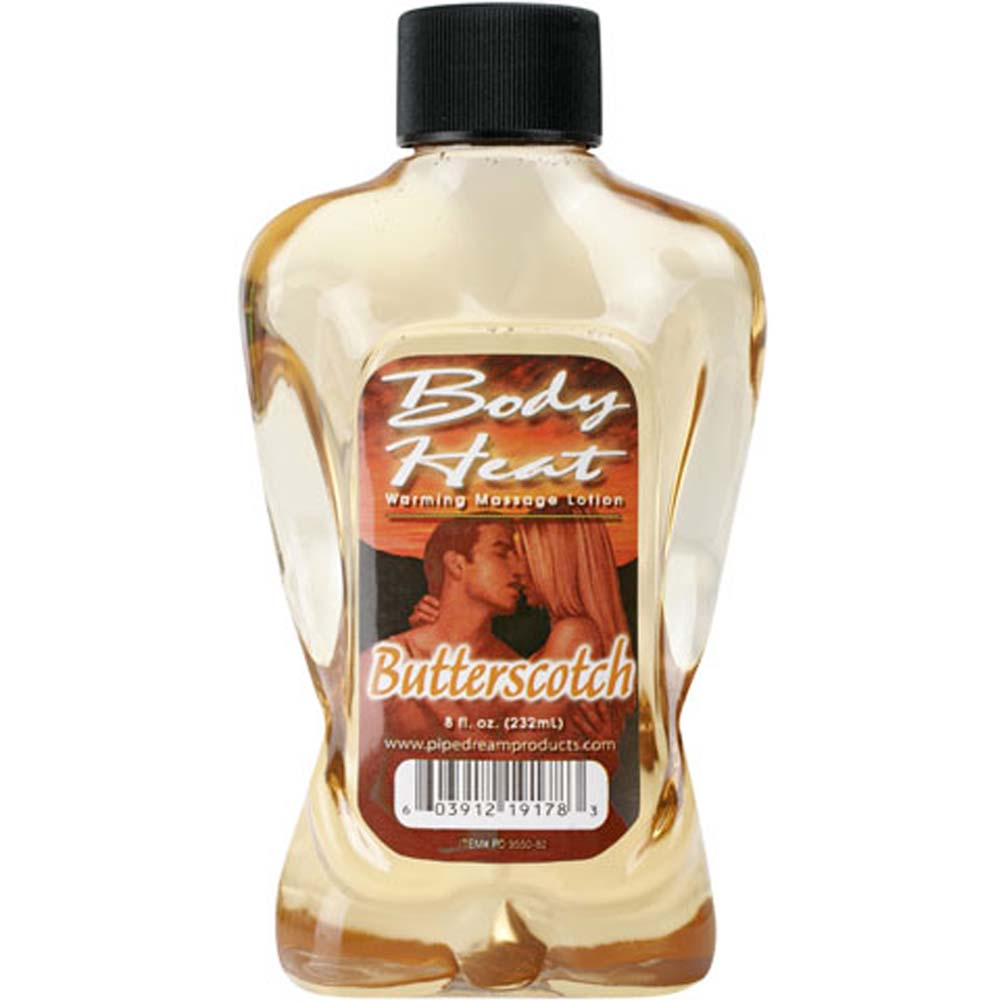 Body Heat Warming Massage Lotion Butterscotch 8 Fl. Oz. - View #1