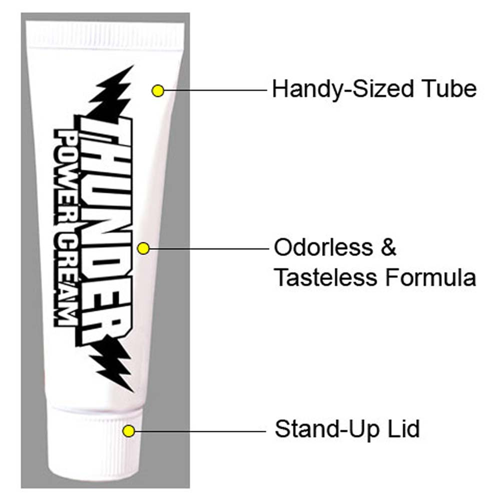 Thunder Power Cream Tube 4 Fl. Oz. - View #2