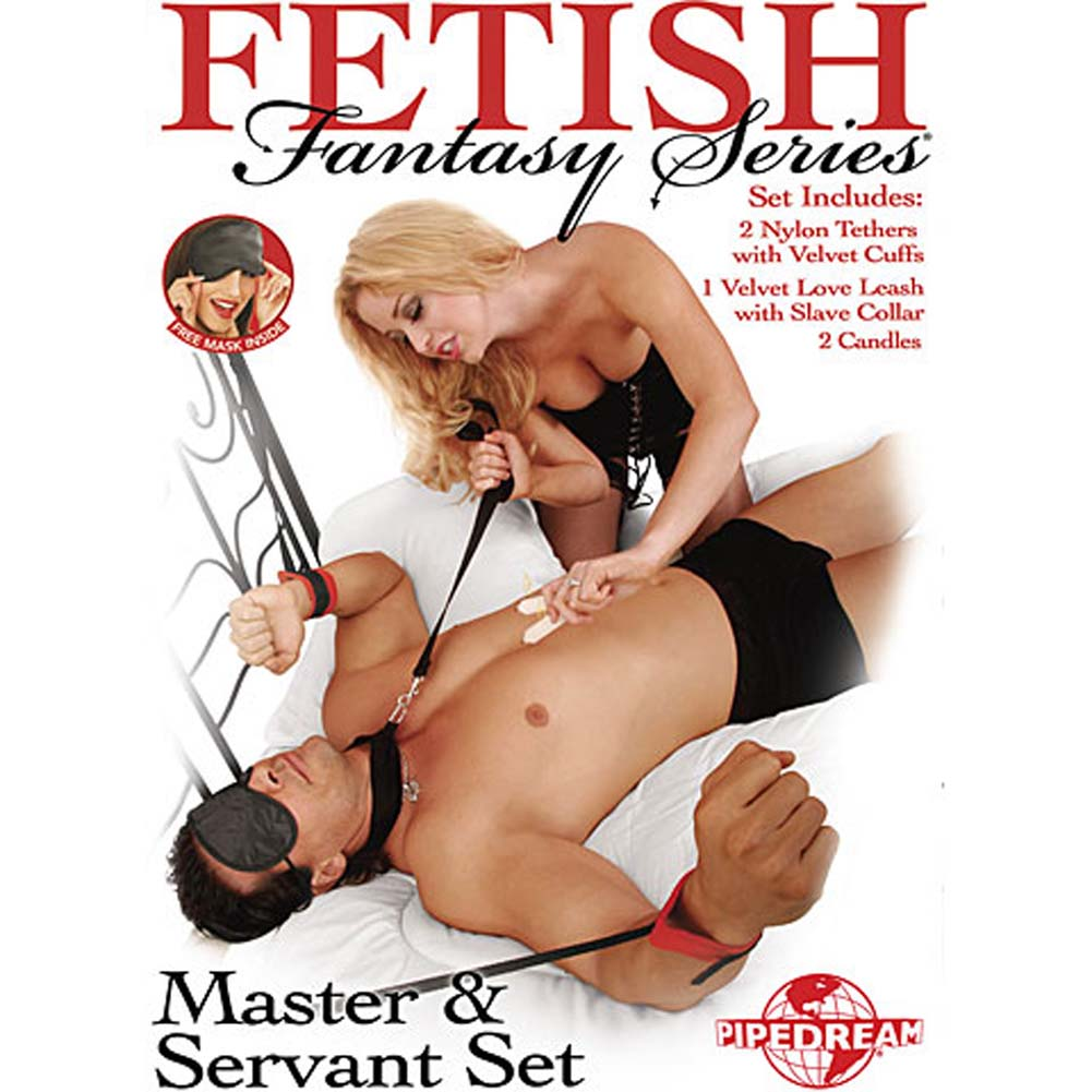 Fetish Fantasy Series Master and Servant Bondage Set Kinky Black - View #1