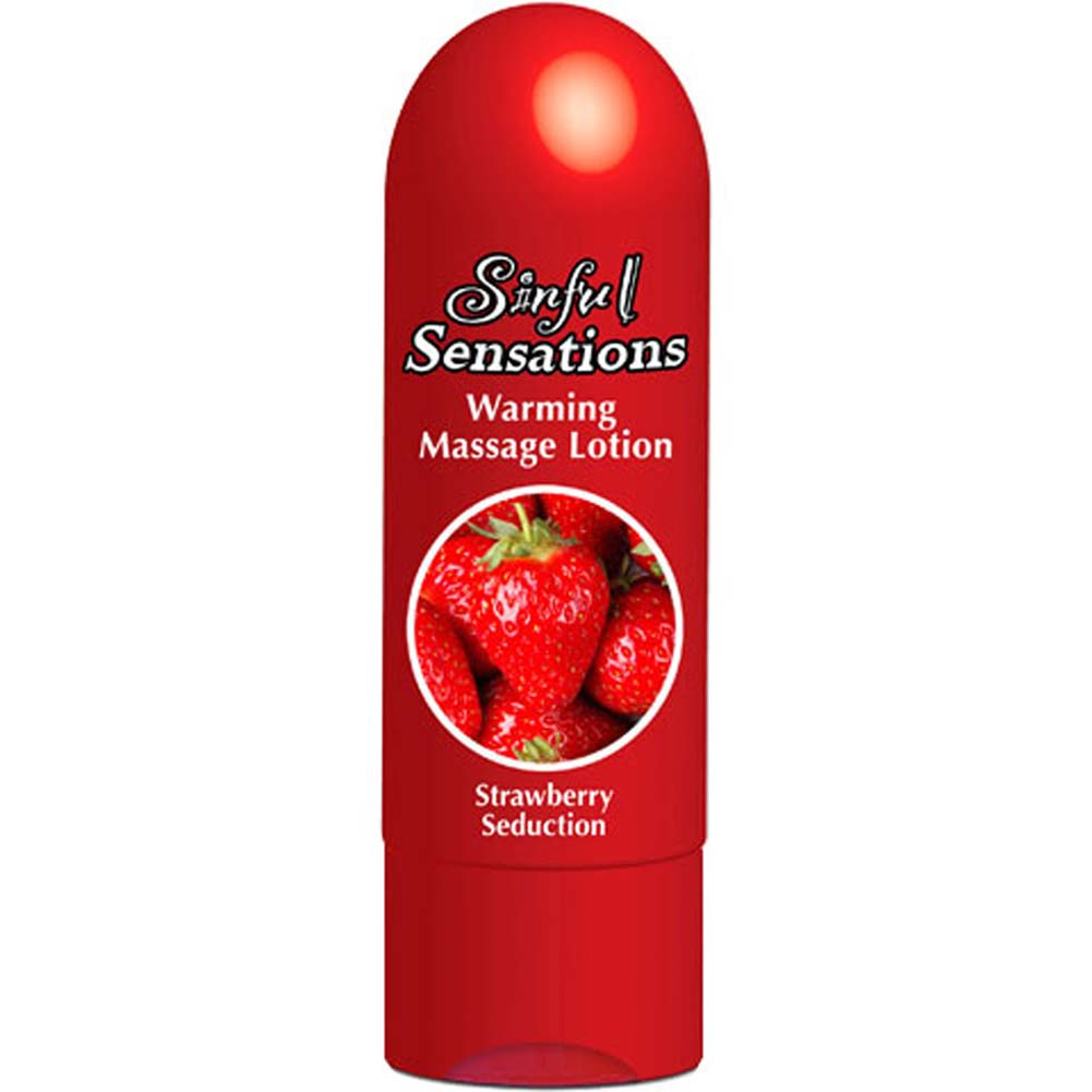 Sinful Sensations Warming Lotion 6.8 Fl. Oz. Strawberry - View #2