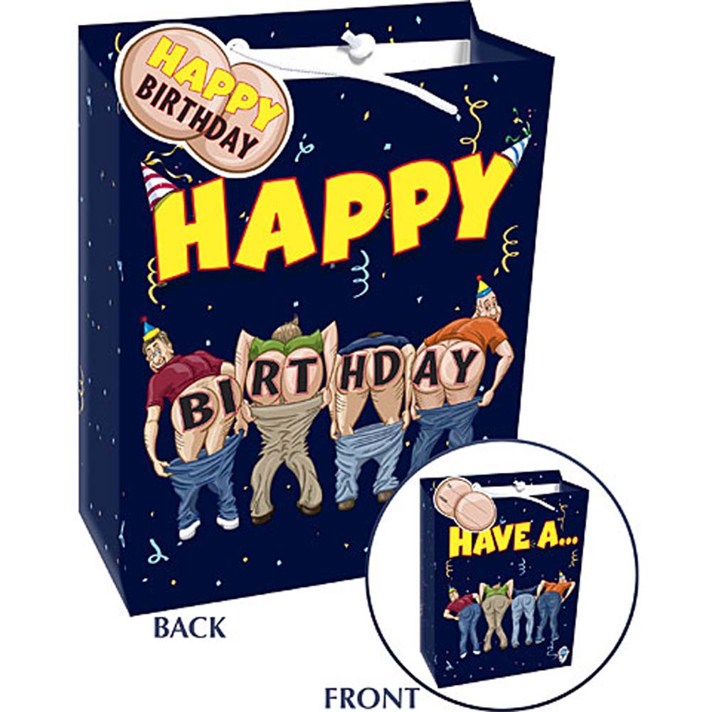 Mooning Gift Bag Have A... Happy Birthday - View #2