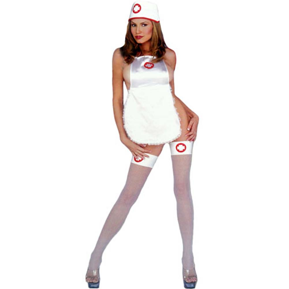 Naughty Nurse Costume Set - View #1