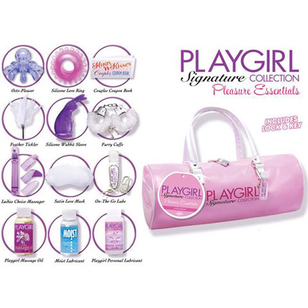 Playgirl Pleasure Essentials Collection Bag with Goodies - View #1
