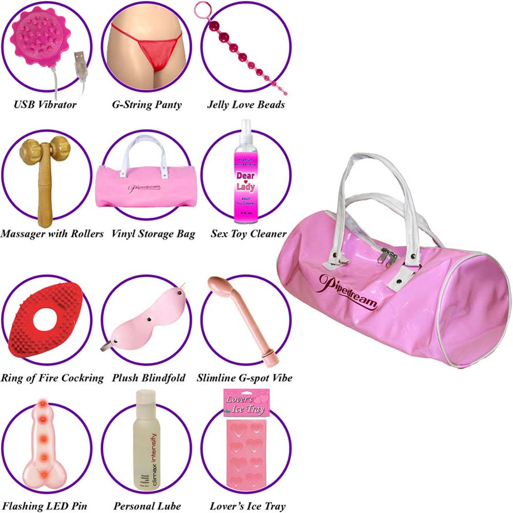 Playgirl Ultimate Essentials Collection Bag with Goodies - View #1