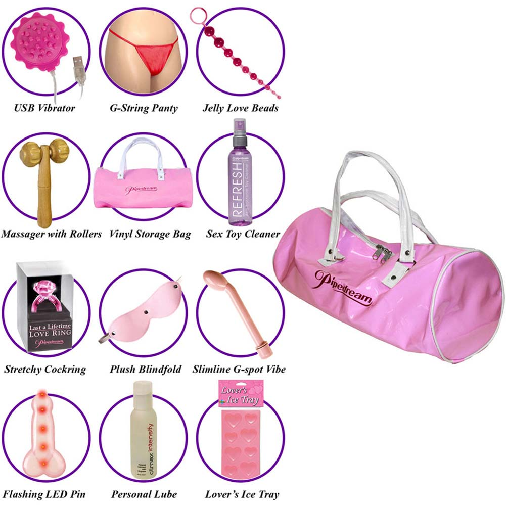 OptiSex Ultimate Essentials Collection Bag with Goodies - View #1