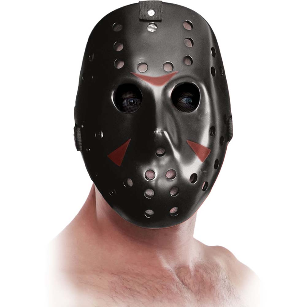 Fetish Fantasy Extreme Freaky Jason Mask Black - View #1