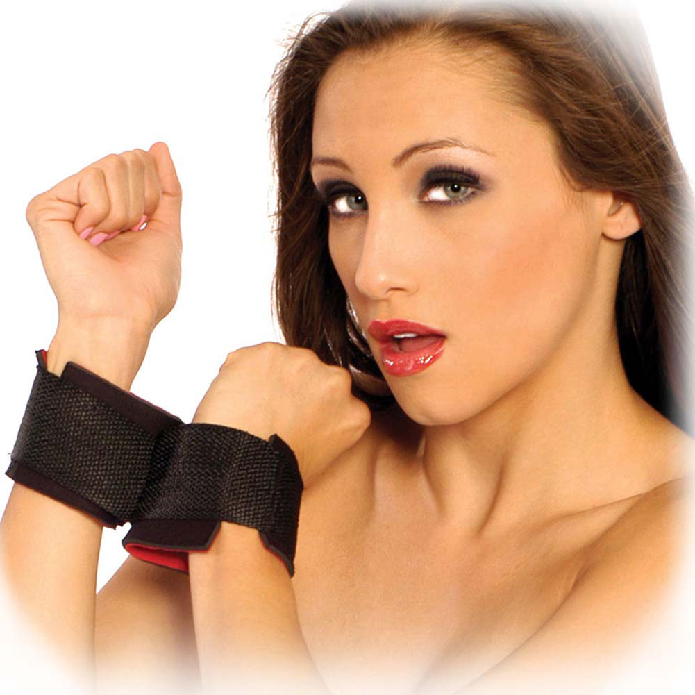 Fetish Fantasy Series Starter Wrist Cuff Black - View #2
