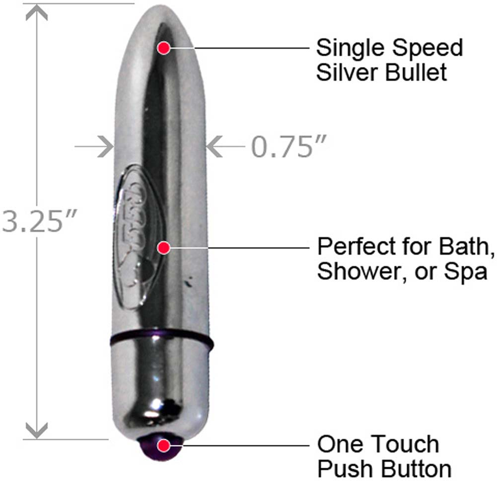 Deluxe High Intensity Waterproof Silver Bullet Combo - View #2