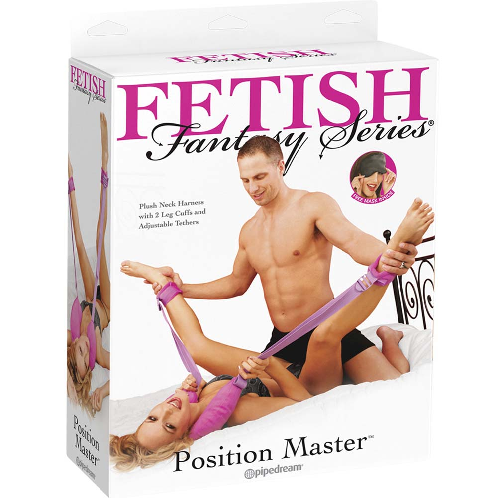 Fetish Fantasy Series Position Master Purple - View #3