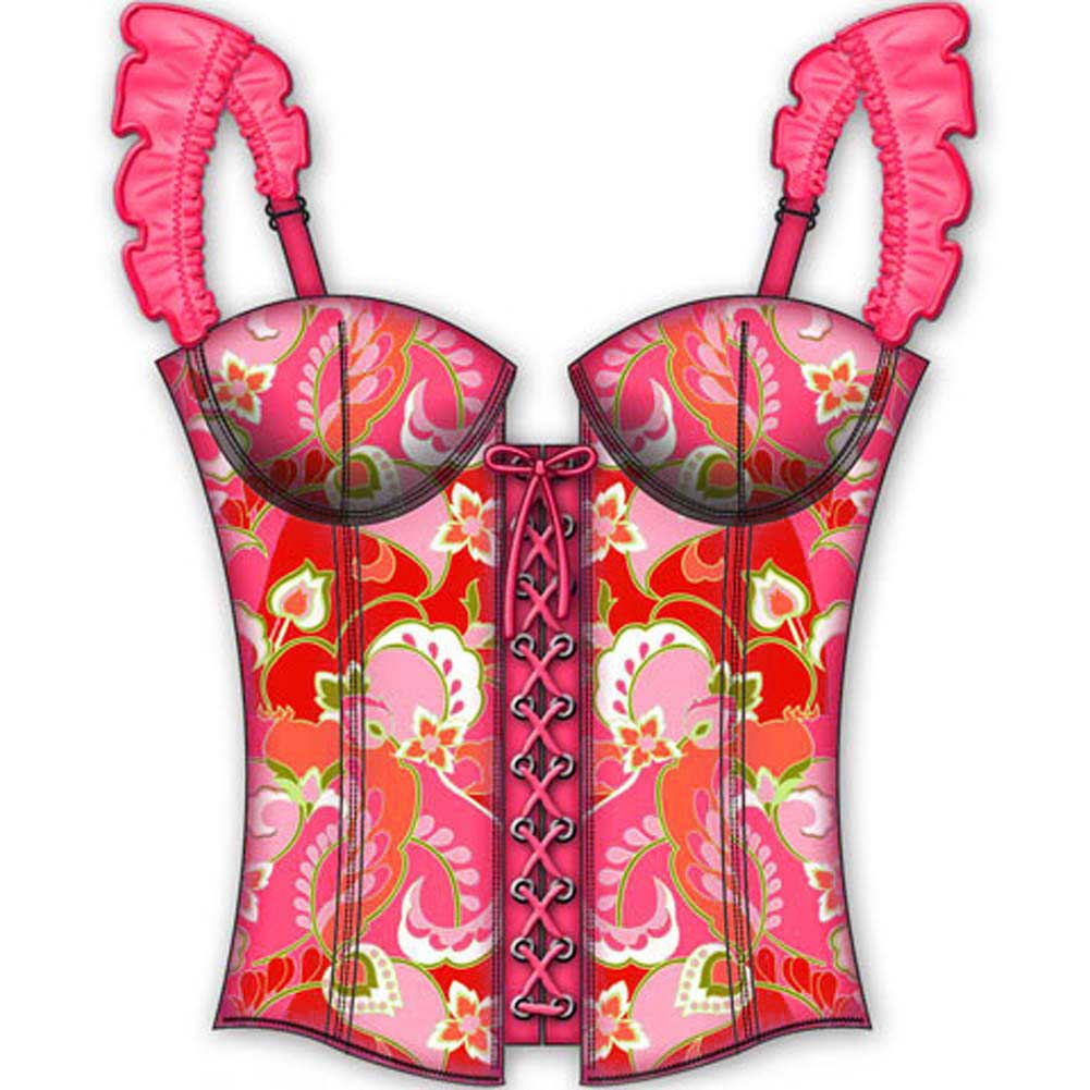 Cabana Baby Zippered Convertible Corset 36B - View #2