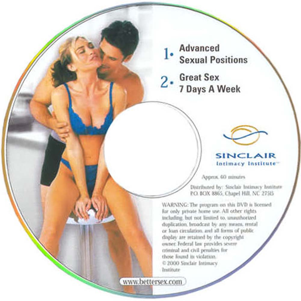 Advanced Sexual Positions And Great Sex 7 Days a Week DVD - View #1