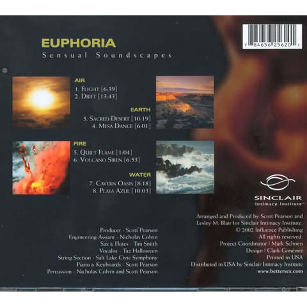 Euphoria Sensual Soundscapes Music CD - View #1