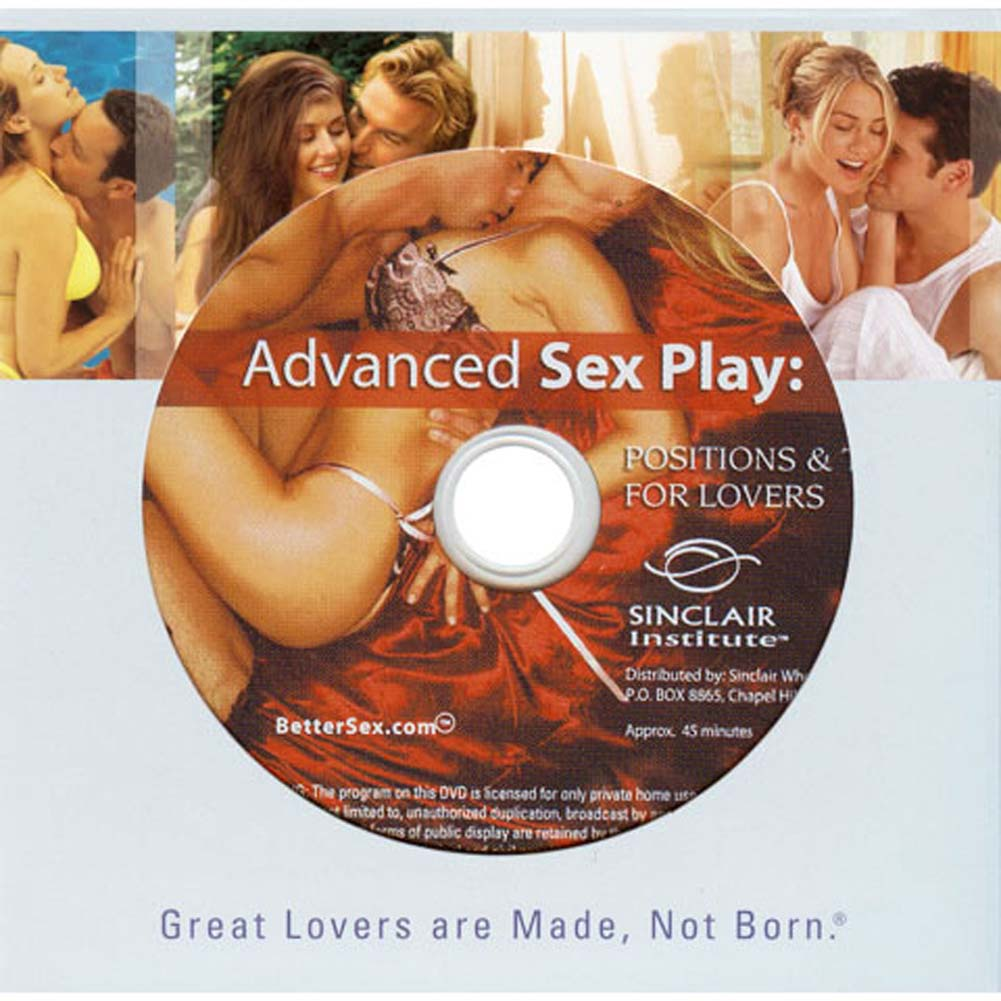 Advanced Sex Play Position and Toys for Lovers DVD - View #1